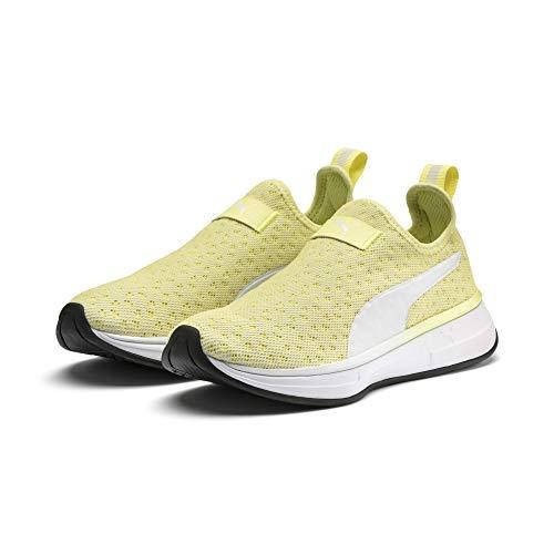 PUMA PUMA x Selena Gomez Slip-On Damen Trainingsschuhe Yellow-Puma White-Puma Black 5 (Puma Damen Schuhe Slip On)