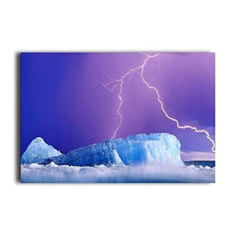 Scenic Frozen Mountain Nature Poster For Home Wall Sticker Customized Poster