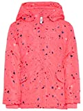 NAME IT Mini Mädchen Jacke, Winterjacke, Anorak Mello Confetti in Neon Rose, Größe:116