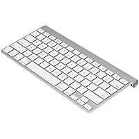 Apple Wireless Keyboard - Teclado Inalámbrico (Bluetooth, Oficina, Mac OS X 10.6 Snow Leopard, Mac OS X 10.7 Lion, Portátil, Derecho, AA, QWERTY, Inglés) [Importado de Reino Unido]