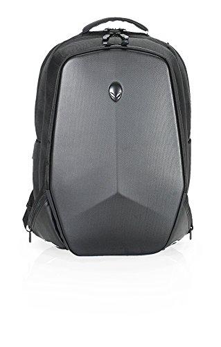 DELL AWV17BP-2.0 Alienware Vindicator - Mochila para portátiles y netbooks, Nylon, Cremallera, Negro/Gris, 43,9 cm (17.3')