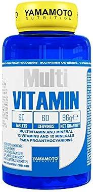 Yamamoto Nutrition Multi VITAMIN integratore alimentare multivitaminico ad ampio spettro con minerali 60 compr