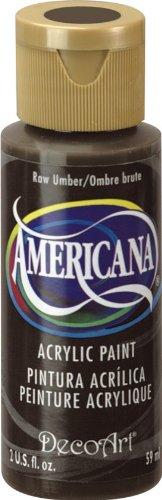 Deco Art americana-colore acrilico multiuso, 59ml, Raw Umber