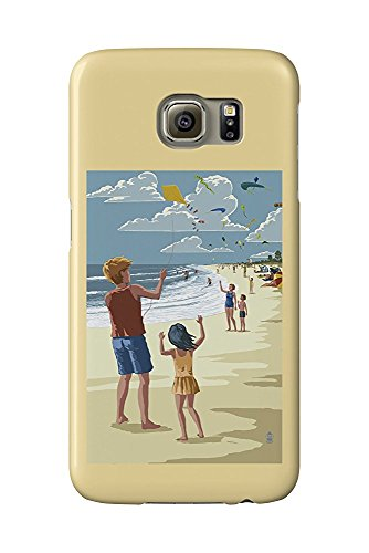 Kite Flyers (Galaxy S6 Cell Phone Case, Slim Barely There) - Kite Flyer