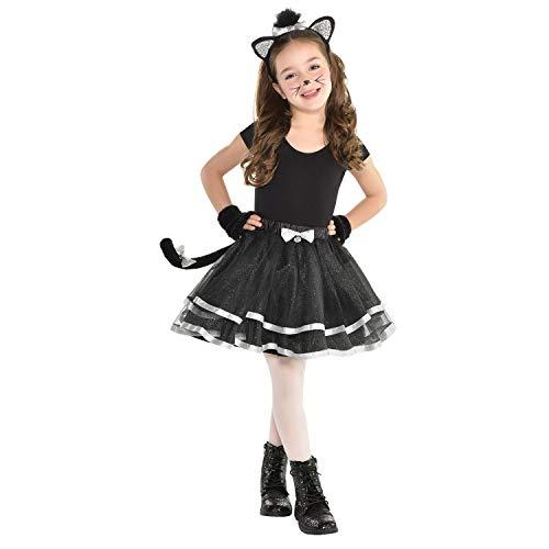 CHILDS ANIMAL TUTU - CAT - SMALL / MEDIUM (Cat Whiskers Kostüm)