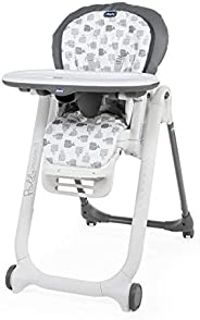 Chicco Polly Progres5 Baby Highchair, Grey