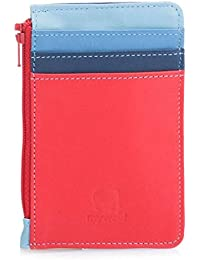 e8f9d41e5bcd5 Mywalit Leather Credit Card Holder with Coin Purse 1206