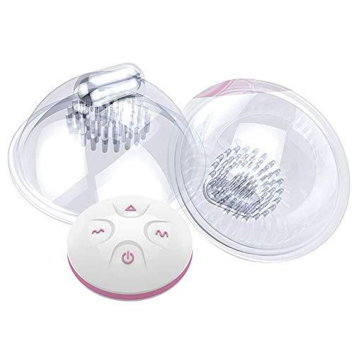 Wiederaufladbarer Brustwarzen-Sauger mit 7 Vibrationsmodi + 5-Gang, Tentakel-Vibrator für Frauennippelkorrektur und Sexspielzeug für große Brüste