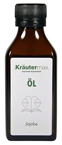 Jojoba Öl 100 ml • Jojobaöl zur Massage und Körperpflege • Massageöl mit reines Jojobaöl • OHNE synthetische Duftstoffe, OHNE synthetische Farbstoffe