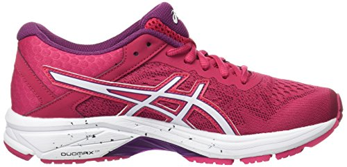 Asics Gt-1000 6, Scarpe En Cours D'exécution Donna Rosa (cosmo Pink / White / Prune)