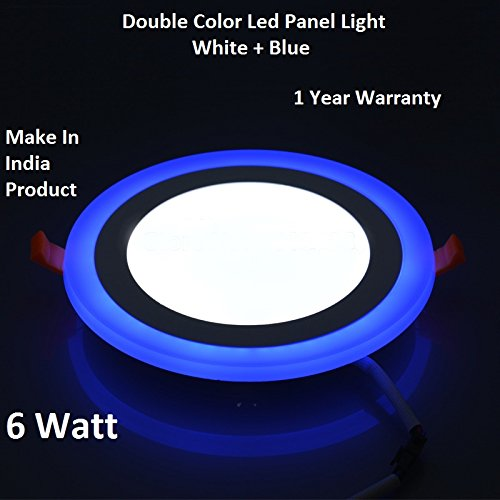 6W LED Round Panel Light Ceiling POP Down Indoor Light...