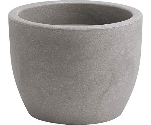 Nicoli R3860S Evolution Matt stampaggio rotazionale Hera vaso, cenere, 60cm