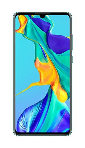 Huawei P30 Smartphone débloqué 4G (6,1 pouces - 6/128Go - Double Nano SIM - Android 9.1) Aurora [Version Française] [Offre avec bon d'achat]