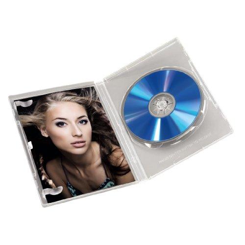 preisvergleich hama dvd h llen auch passend f r cds und blu rays willbilliger. Black Bedroom Furniture Sets. Home Design Ideas