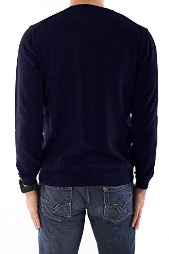HUGO BOSS - Herren Pullover V-Ausschnitt BATISSE-B Blau (Dark Navy)