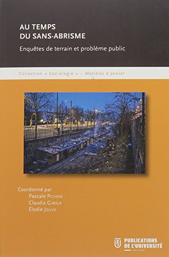 Au temps du sans-abrisme : Enquêtes de terrain et problème public