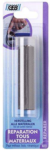 Mastic époxy pour réparation tous matériaux - Tube 82 mm - GEB