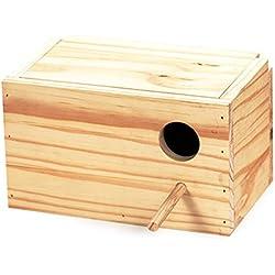 Arquivet 8435117856110 - Nido madera agapornis horizont