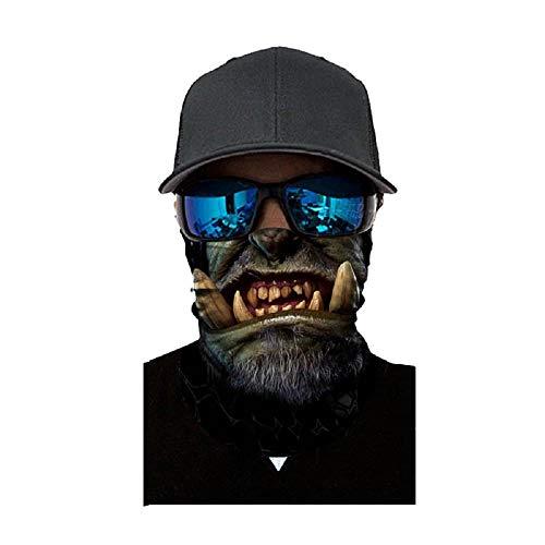 Kostüm Joker Verschiedene - Face Shield Sturmhaube ,viele verschiedene Designs* Multiunktionstuch Maske Fishing Totenkopf Schal Skull Bandana Gesichtsmaske Halstuch Ski Motorrad Paintball Face Shields Maske (A)