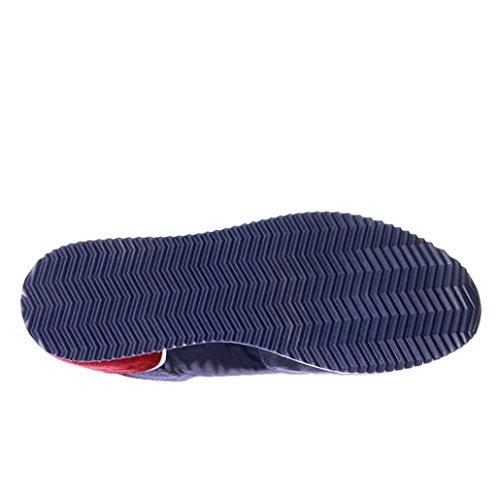 D'Acquasparta Sneaker Uomo Cosimo Alta Cm 4 Suede Blu Blu