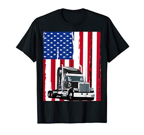 5c2a9206d Trucker truck driver t shirt al mejor precio de Amazon en SaveMoney.es