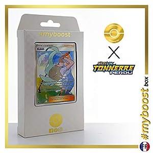 Kahili 210/214 Entrenadore Full Art - #myboost X Soleil & Lune 8 Tonnerre Perdu - Box de 10 Cartas Pokémon Francés