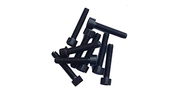 M4x16 Zylinderschrauben mit Innensechskant DIN 912 Kl.12.9 schwarz blank 25 St/ück