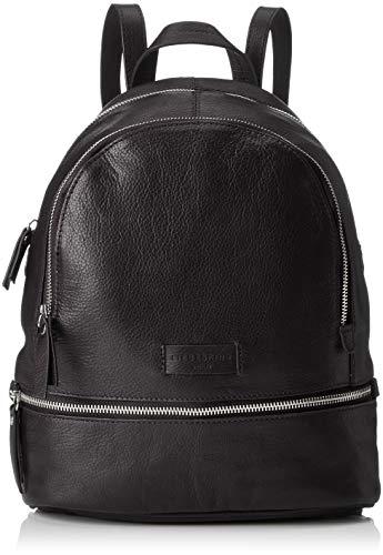 Liebeskind Berlin Damen Essential Lotta Backpack Small Rucksackhandtasche, Schwarz (Black), 11x32x26 cm