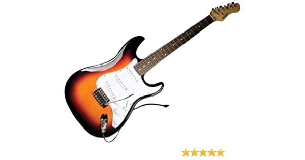 Ion Audio Discover E-Gitarre mit USB Interface und Profi Guitar Amp ...