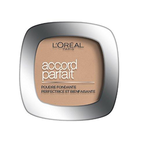 L'Oréal Paris Make Up Designer - Accord Parfait Fond de Teint Poudre Unifiant 3.R Beige Rosé