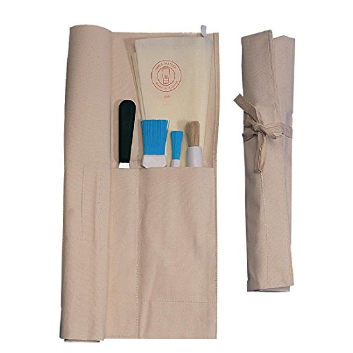 Vogue D701Leinwand Messer Brieftasche, 10Kreditkartenfächer -