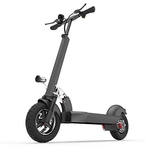 Xulong E202 Electric Scooter Adult, Folding 10 inches 1000 W Carga 200 kg Maximum speed 55 Driving Range kph 50-60 km Suitable for Campo Street Travel Travel,withoutseat