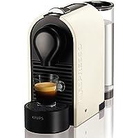 Nespresso Krups U XN 2501-Cafetera de cápsulas, 19 bares, depósito modular, táctil, automática, color Pure Cream