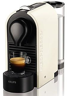Nespresso XN 2501 U Pure Cream Krups U-Cafetera con cápsulas, Color, 1260 W, Blanco perla (B008YQHTEM)   Amazon price tracker / tracking, Amazon price history charts, Amazon price watches, Amazon price drop alerts