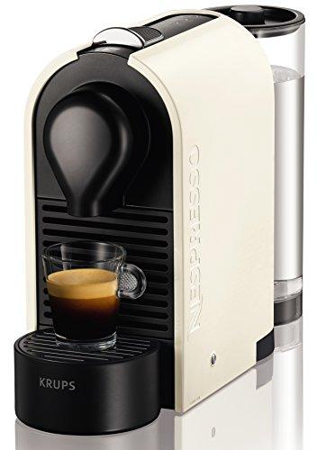 Nespresso Krups U XN 2501-Cafetera de cápsulas, 19 bares, depósito modular,...