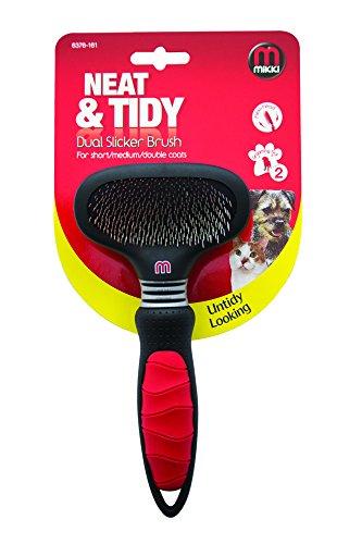 Mikki Dual Slicker Brush 1