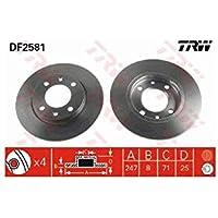 TRW Automotive AfterMarket DF2581 disco de freno