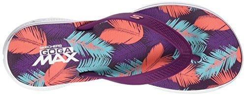 Skechers H2 Goga Lagoon, Tongs Femme Violet (Prpk)