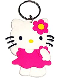 RJMSAS Single Sided Hello Kitty Metal Keychain | Key Ring For Car Bike Home Keys | Key Chain For Kids Men Women...