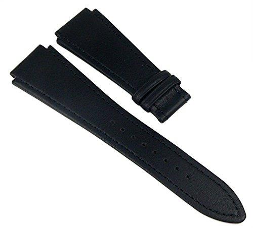 Junghans Ersatzband Uhrenarmband Leder Band 20mm schwarz für Sailor 056/4624 056/4626