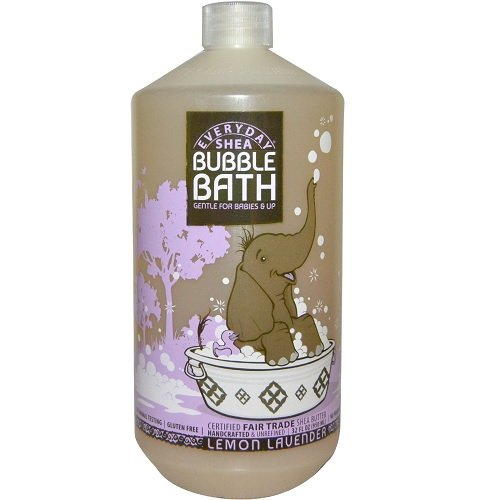 Baño de espuma, suave para bebés para arriba, Limón-lavanda - Todos los...