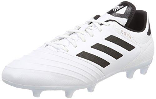 online store 1ede3 c9c1b Adidas Copa 18.3 FG, Botas de fútbol para Hombre, Blanco (Ftwbla Negbas