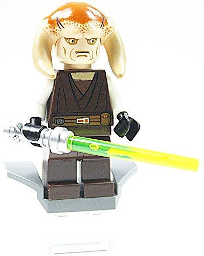 LEGO Star Wars - Figur Jedi Saesee Tiin + Laserschwert aus 7931 mit Zubehör (Star Wars Lego-jedi Mit)