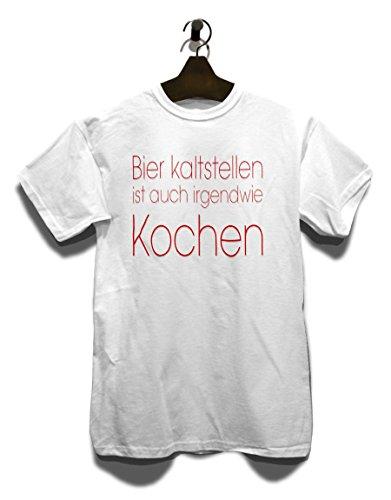 Bier Kaltstellen Ist Auch 01 T-Shirt Weiß