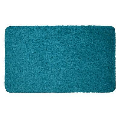 Dyckhoff Tapis de salle de bain Bleu pétrole 60x100cm
