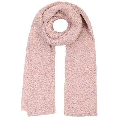 Lierys Boucle Strickschal Damenschal Wollschal Schal Damen | Made in Germany Herbst-Winter | One Size rosa -