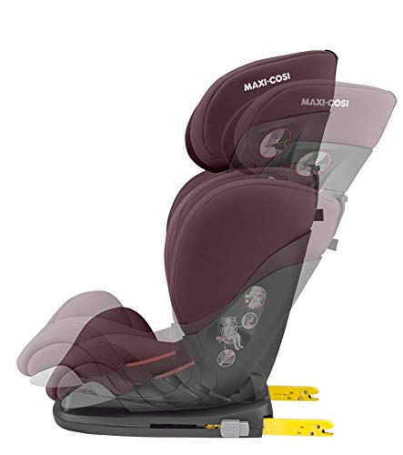 Maxi-Cosi RodiFix AirProtect Child Car Seat, Isofix Booster Seat, Red, 15-36 kg Maxi-Cosi Booster car seat for children from 15-36 kg (3.5 to 12 years) Grows along with your child thanks to the easy headrest and backrest adjustment from the top Patented air protect technology for extra protection of child's head 6