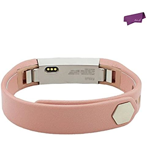 SalesLa cuero auténtico accesorio banda reloj de pulsera de la correa de Fitbit perseguidor