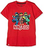 Lego Wear Jungen T-Shirt Lego Boy Ninjago CM-73084, Rot (Red 365), 152