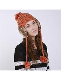 Amazon.es  gorro orejeras - Naranja   Sombreros y gorras ... ff7f7c9fd93